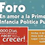@AlcaldiaTunja continúa con el Foro 'En Amor a la Primera Infancia' > http://t.co/UnVaZoI5hl. http://t.co/McNAN2pRrP