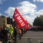 Thousands of workers descend on Melbournes CBD in anti-Abbott rally #March4 @theheraldsun http://t.co/a7uTevgJRh