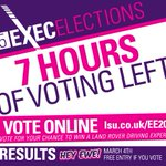 The turnout keeps going up and up! Have you voted yet? T minus 7 hours! http://t.co/66z3sqq21h #EE2015 http://t.co/Jz3ZHYyWcI