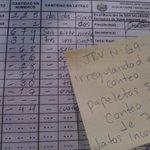 ARENA hace #fraude en actas subiéndose la cantidad de votos. JRV69 papeletas 500; votos de ARENA 679 http://t.co/7UAcTTdDdi
