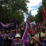 "Tony Abbott to workers: ""Im taking your rights"". Workers to Abbott: ""Were taking this outside"". #march4 #ausunions http://t.co/Q1HQ4N97c0"