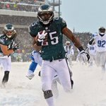 Good news, Buffalo: LeSean McCoy dominates in snow. He set Eagles record w/ 217 Rush yds in 2013 blizzard vs Lions. http://t.co/8c9M0oGmJq