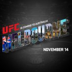 #UFCMelbourne. November 14th (Nov. 15th AUS). Be there! Story: http://t.co/AQfN6a7Frw RT if youre excited! http://t.co/PLy7dTQ6hj