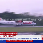 Bali Nine ringleaders on flight to Cilacap, where theyll be transferred to Nusa Kambangan. #Bali9 #9News http://t.co/QIrJeKiW5D
