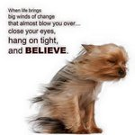 So cute! Love it. ALWAYS believe! xoP RT @HeartSoul_Power: Ms @PaulaAbdul #ChangeIsGood #HangOnTight and #believe ❤️ http://t.co/tszHOfdp4a