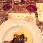 Were dining on incredible lamb shank at @VineandTap #finedining #Atlanta http://t.co/14X7n05ohY