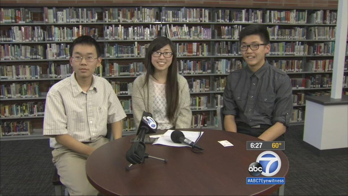 3 Arcadia High School Students received perfect scores on SATs http://t.co/8iSlADGd3V
