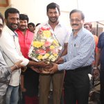 RT @anandviswajit: @VffVishal New Movie Launch Today. Directed By #Suseendiran. Actor #AnandRaj Played A Important Role in This Movie