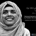#OneVoice Prz @MohamedNasheed is nt a terrorist He s #PeoplesPresident #NasheedUnderArrest #WhatInspiresMe #ITBBerlin http://t.co/6rKlxPPmsH