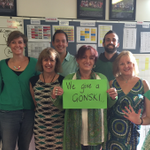 North Fitzroy Primary couldnt be at #March4 rally today, but they Give a #Gonski from a distance! #SolidaritySelfie http://t.co/B7ZWrMQzCn