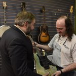If elected Prime Minister, I promise not to play at any concerts. Great visit at @Arbutusthoughts today #cdnpoli #NDP http://t.co/uN6s43fiKM
