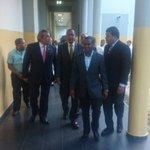 Agradecemos al @SenadorDeOcoa poder compartir hoy con nosotros sus conocimientos del Tema Dominico-Haitiano #UASD http://t.co/uT1GZpX990