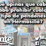 #PreguntaDelDía ¿Qué opinas que cabildo aprobó prohibir cualquier tipo de pendones en Hermosillo? http://t.co/NpUa5EgBbn