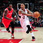 The @ATLHawks 32-point 4th quarter outburst proves to be triumphant over @rockets 104-96. Jeff @Teague0 led w/ 25. http://t.co/6SCkmoF0Gd