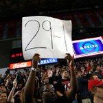 HALF: Georgia 32 | No. 1 Kentucky 32 The UGA fans have spoken. #UKvsUGA http://t.co/u7va8W7lUk