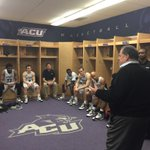 Great moment 2nite after our big @ACU_MBB win w/ACU alum Lance Barrow - Coordinating Producer for @CBSSports! #ACUE4C http://t.co/Qt8HYlhIMR