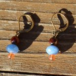 Blue earrings blue earrings for women blue earring by JabberDuck http://t.co/ZNOVaXOVGW http://t.co/SuZMzepNT4