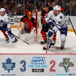 FINAL: #Leafs win 3-2 in Florida. #TMLtalk #ForTheWin http://t.co/cTVRhPnwiT