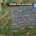Be careful as you drive to work and school in #Atlanta on Wednesday. A dense fog advisory is in effect until 10 AM. http://t.co/K3FSv3H9VO
