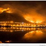 """@ChevsLife: Striking image of ferocious #MuizenbergFire -immense gratitude 2 fire fighters and volunteers @vwsfires http://t.co/ZWQA4fTYkx"""
