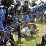We have a rogue police force, corrupt judiciary and a dictator. #Maldives #ITB2015 #ITBBerlin2015 #ITBBerlin http://t.co/ug9qBUeM1R