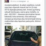 Mohon bantuan sebarkan kereta Honda jazz hilang ni. Urgent & thanks http://t.co/kUUjfRamcE