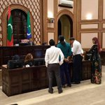 #HAPPENINGNOW at #Maldives parliament. Protest to release president Nasheed. #ITBBerlin #ITB2015 #NasheedUnderArrest http://t.co/Xvo1GAV39m