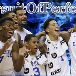 Still perfect! No. 1 Kentucky survives scare vs Georgia, improving to 30-0 on season. #PursuitOfPerfection http://t.co/yQFiVjnKDC