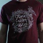 Weve got new shirts! Big thanks to @MerchBundle for the great craftsmanship! #LdnOnt #creepycrawlies http://t.co/fPshD9EK3r