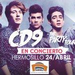 Adivinen quiénes (nosotros) cantarán en Hermosillo éste 24 de abril. #ThePartyTour ????http://t.co/2vbNcmOXvh http://t.co/zyBS1ku8eI