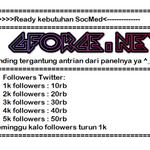 open order 1k followers silahkan ditunggu http://t.co/95UnHjtJc1