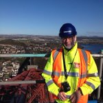 Happy 125th birthday Forth Rail Bridge - Paul Motion on Forth Rail Bridge Climb today #Edinburgh http://t.co/9Q6SnBrvjw