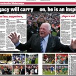 Just one of the pages in the WEP on the historic day DW stepped down after 20 years as chairman of @LaticsOfficial http://t.co/Tyq3Ci9VTF