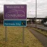 Road signs into #Edinburgh now highlight our #Fairtrade City status http://t.co/arJCiP3ORK #thisisedinburgh #FT14EDI http://t.co/Qqu43AEojO