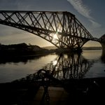 A very happy birthday to the Forth Rail Bridge, 125 years old today! http://t.co/qmgVef39pE