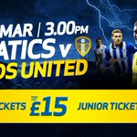 NEXT UP AT HOME: Buy your tickets in advance for @LUFC! Match day prices applicable http://t.co/LIREeqZyG7 #wafc http://t.co/65AnA4K03m