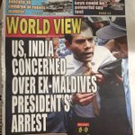 We the people concerned too! #NasheedUnderArrest #FreeNasheedNow #ITBBerlin #ITB2015 #Maldives http://t.co/1m80cEDWlr