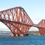 Forth Rail Bridge is 125 years old today what an amazing bit of engineering ! #StunningScotland http://t.co/ioXIcyJGxi
