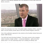 Creeping towards ID cards? Willie Rennie raises concerns on #bbcgms about use of NHS data http://t.co/fJcPbzE3pm http://t.co/MhGimaGAkd