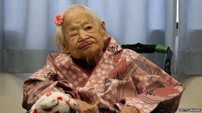 Happy birthday Misao Okawa! The world's oldest person is turning 117. http://t.co/dqMNn20bGR