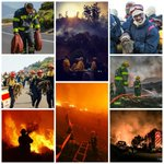 Spare a thought for the brave fire fighters battling the blaze in Cape Town since Sunday. #TrueHeroes #CapeFire http://t.co/dkBtJVWFJD
