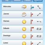Si las predicciones no fallan mañana diremos agur al paraguas... ???????? #bilbao #eltiempo @Euskalmet #queremossol http://t.co/O53IEaPLYu