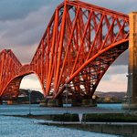 Happy 125th Birthday to the Forth Bridge. She might be the oldest but definitely the best looking of all the bridges. http://t.co/VdpB24poOh