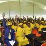 *during NRM caucus* By show of hands who ISNT surprised that Olara Otunnu isnt standing for presidency in 2016 http://t.co/qmh2wZsV1A