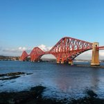Happy Anniversary @theforthbridge! The rail bridge was officially opened on 4th March 1890 - 125 years ago today! http://t.co/FlmJjZTlv4