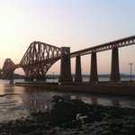 Happy 125th Birthday to my neighbour - The Forth Bridge. She may be 75 years older than me but she is still glorious! http://t.co/CT8vMliRfM