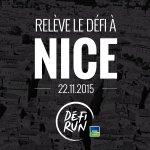 Vous aussi relevez le #DéfiRun #nice06 :) @defirun est de retour à Nice le 22/11/2015 !!! http://t.co/Pyxi5QpB5L