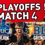 On remet ça ce soir!#Dijon #BDL match 4 1/4 de finale @LigueMagnus #Live de Dijon 20h http://t.co/jcogF9L054 & 100.4 http://t.co/t5ut35gN9g