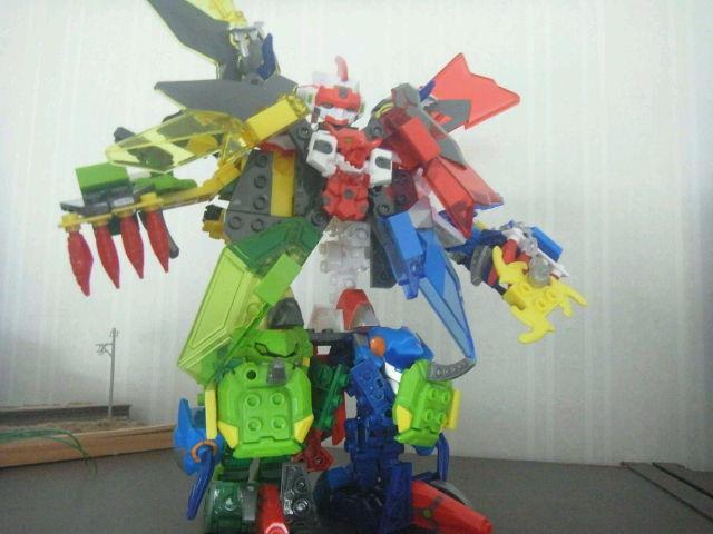 ブロック玩具としては面白いんだけどなぁテンカイナイト。劇中に似ているかはおいといて。