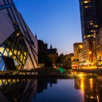 Evening reflections of the ROM: https://t.co/hp4AoMiCNI #Toronto #RoyalOntarioMuseum @SeeTorontoNow @ROMtoronto http://t.co/S9FAt4lVLg